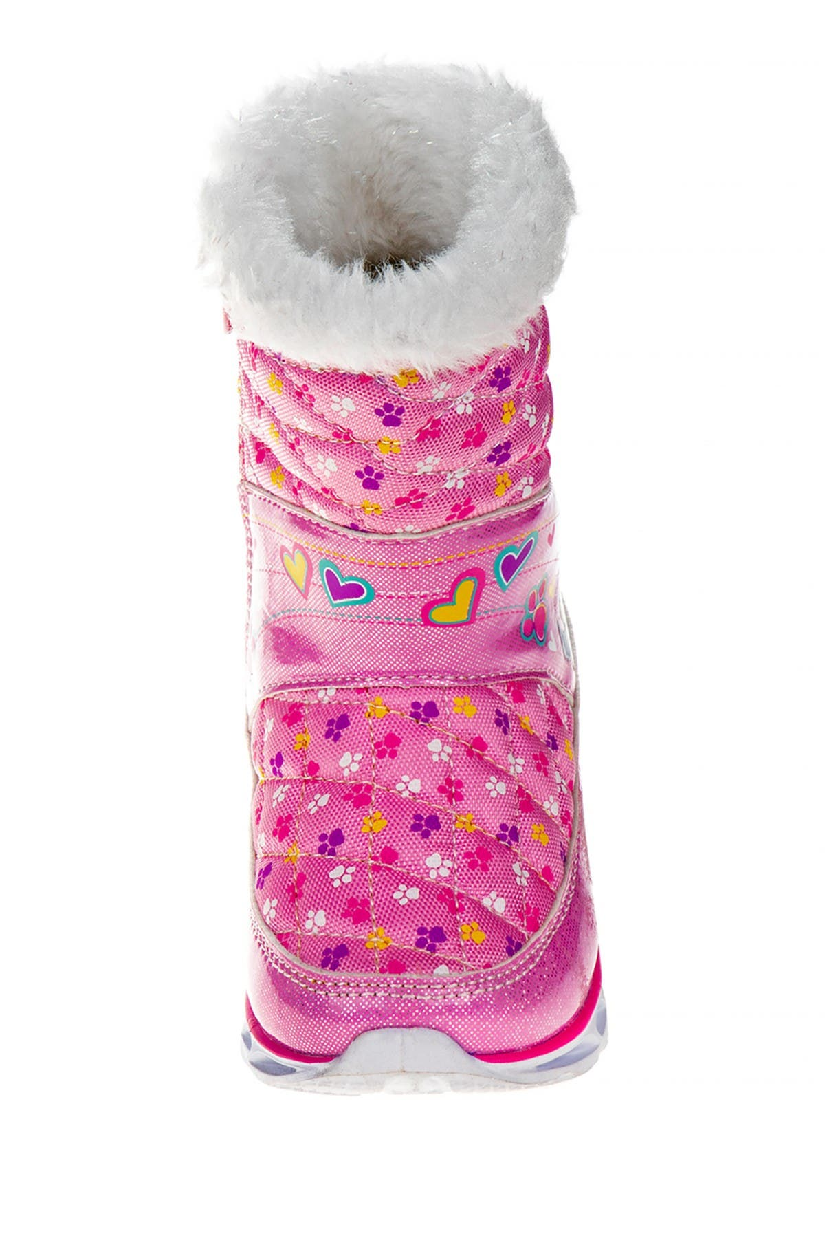 Josmo Paw Patrol Light-Up Faux Fur Snowboots