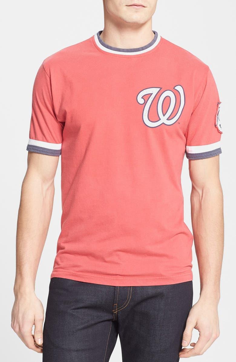 Red Jacket Washington Nationals Remote Control T Shirt