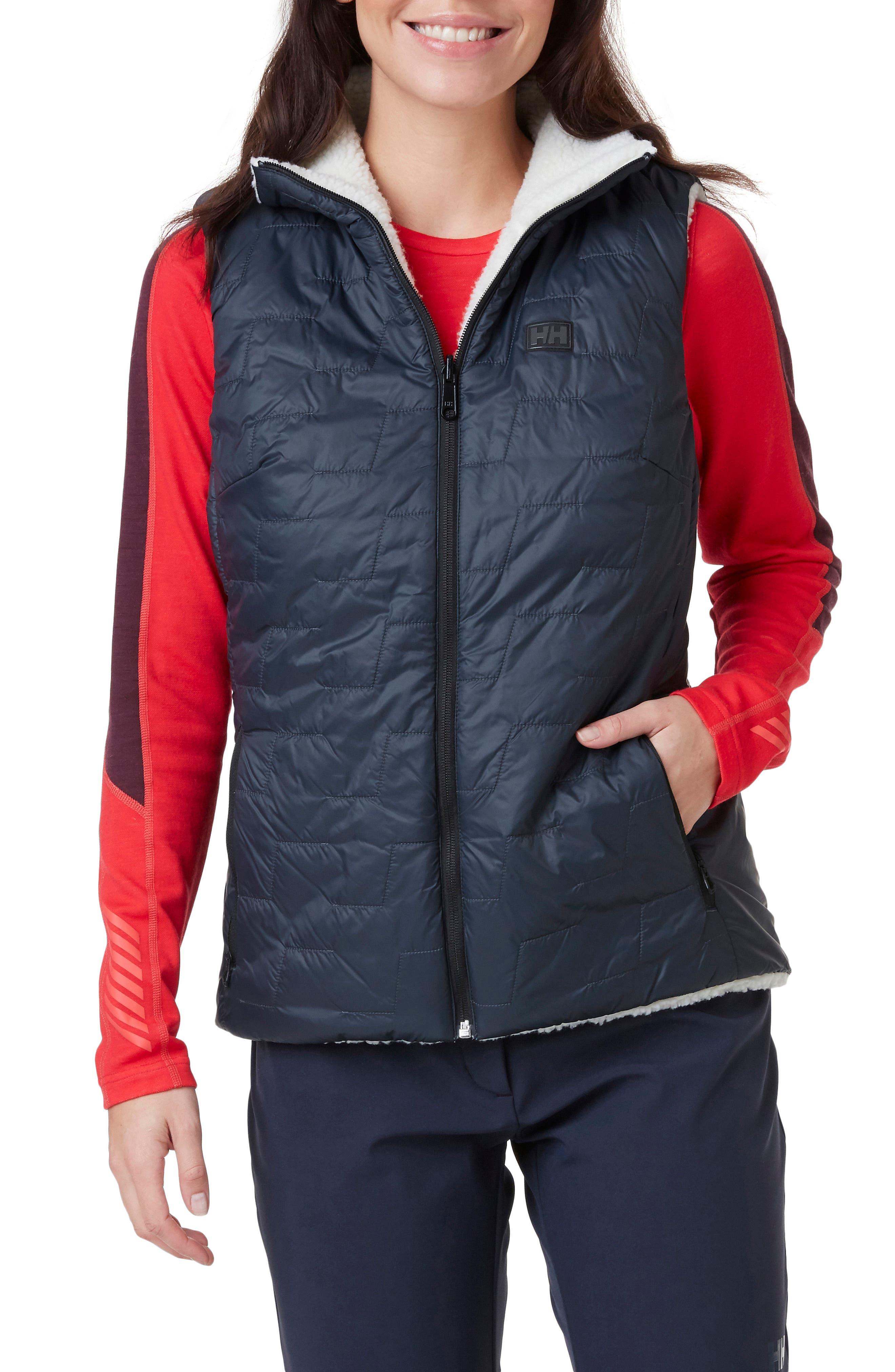 Water Resistant & Windproof Reversible Fleece Vest