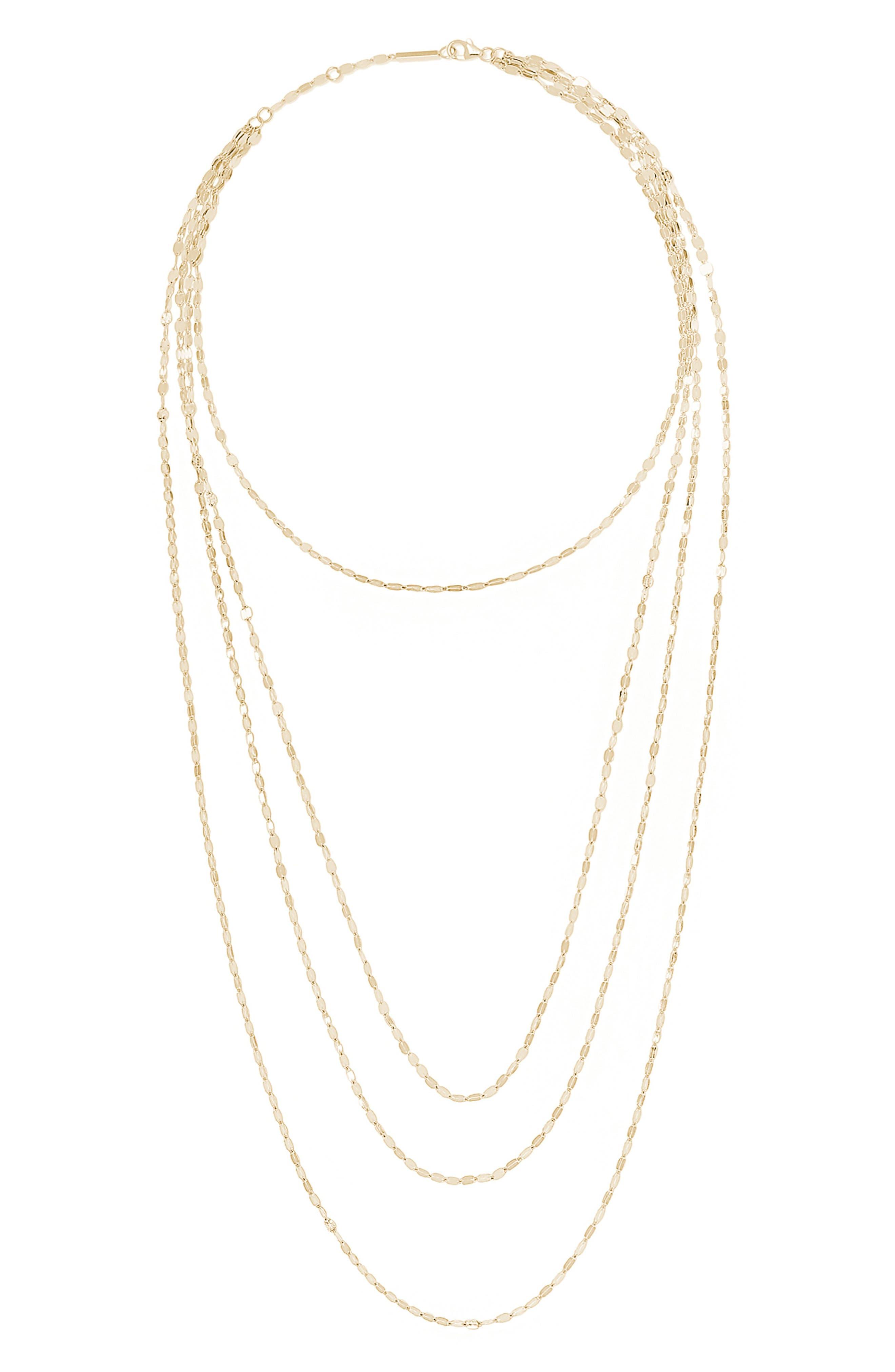 Mega Gloss Blake Layered Necklace