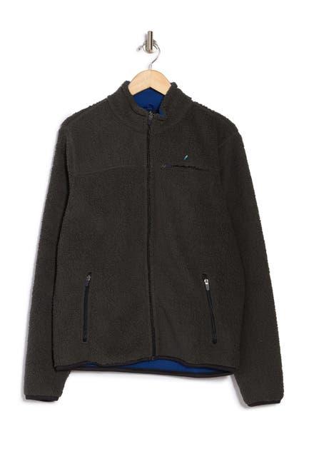 Image of Tailor Vintage Bonded Polar Fleece Full Zip Jacket