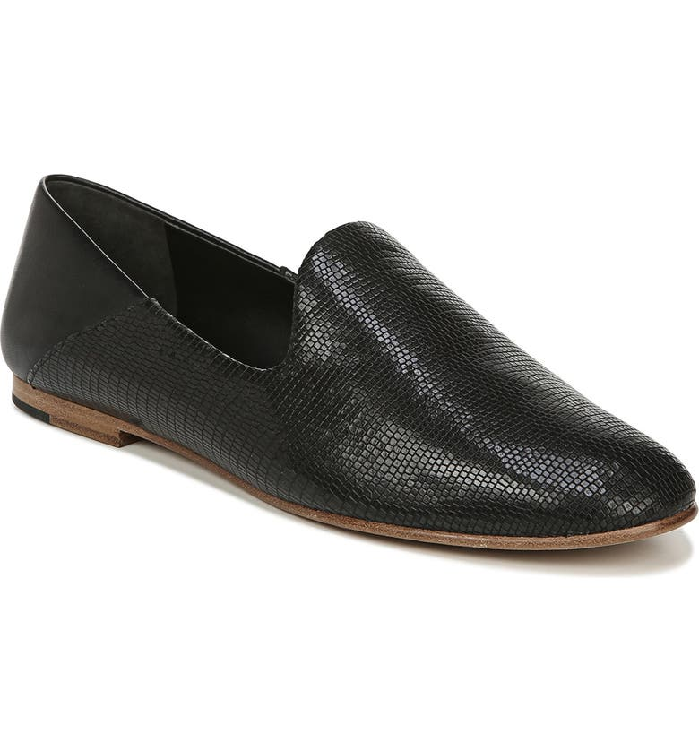 VINCE Marley Venetian Loafer, Main, color, BLACK