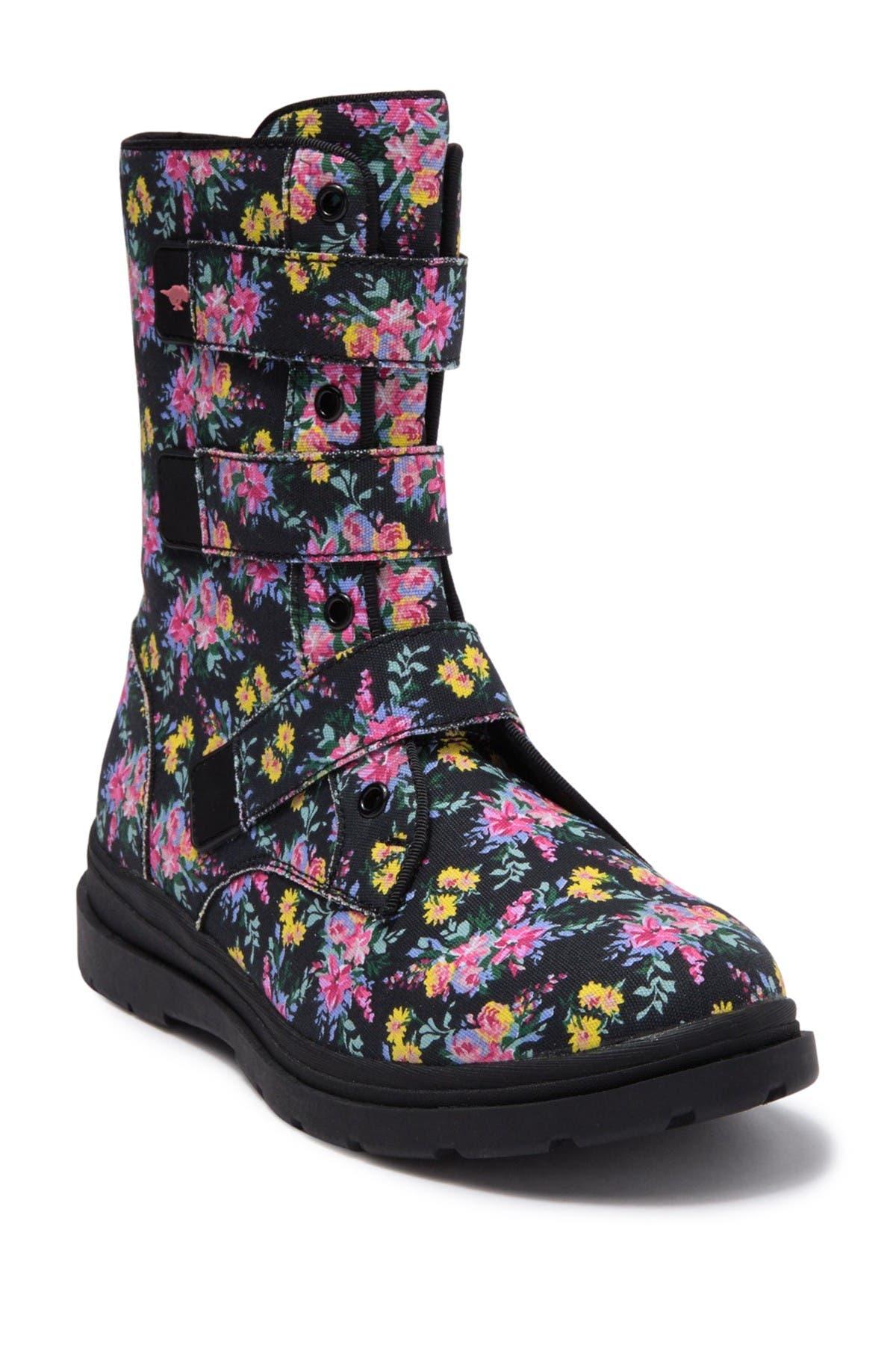 Rocket Dog Zada Floral Print Boot