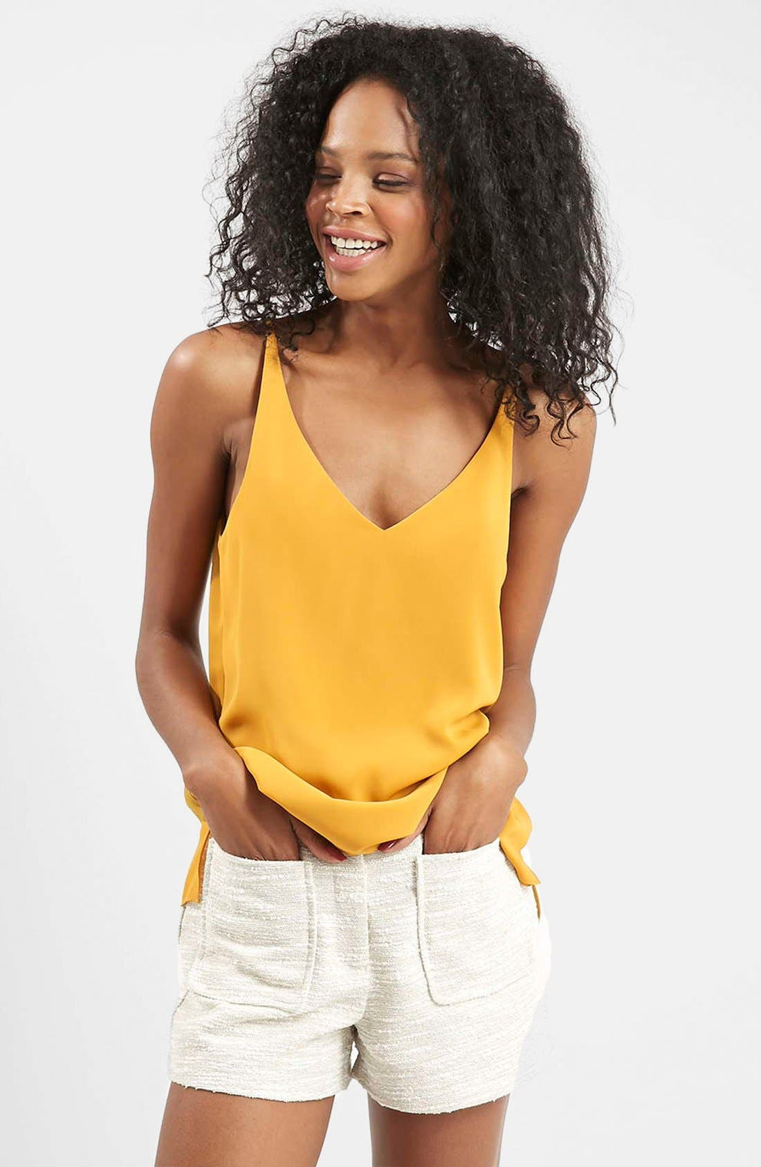 ,                             Strappy V-Neck Camisole,                             Main thumbnail 73, color,                             720