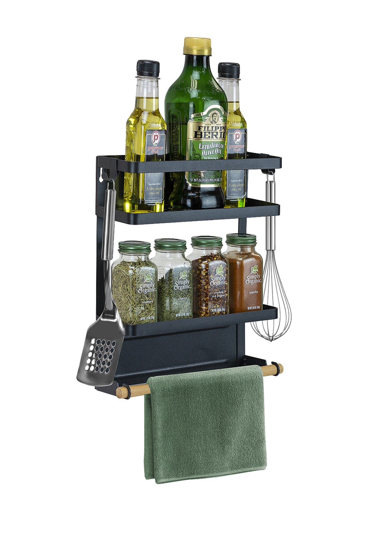 Image of Sorbus Magnet Spice Rack Organizer - Medium