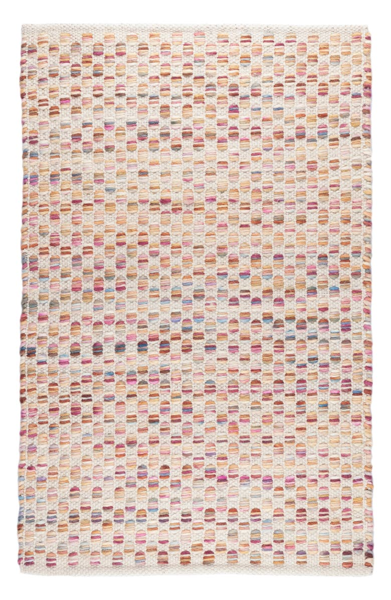 DASH & ALBERT Torrey Handwoven Wool Blend Rug, Main, color, BEIGE