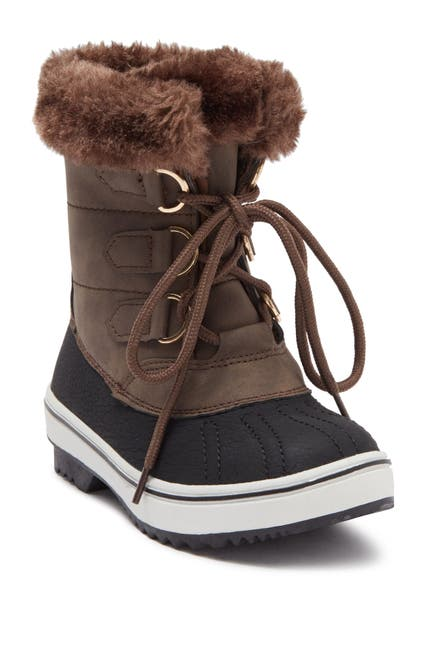 Image of Top Moda Kimora Faux Fur Lined Snow Boot
