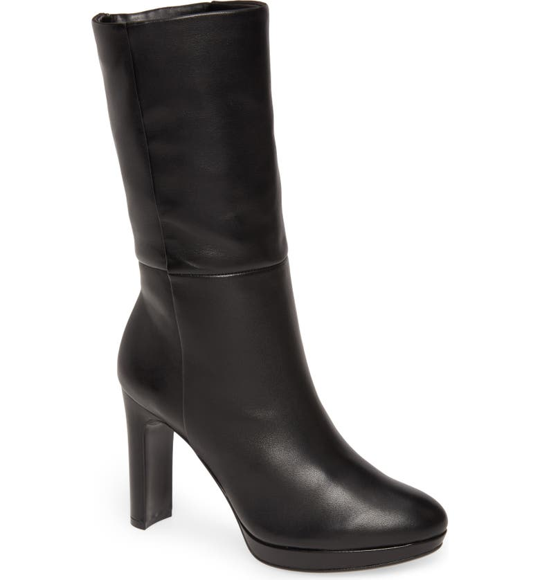 CALVIN KLEIN Pebbles Boot, Main, color, 001