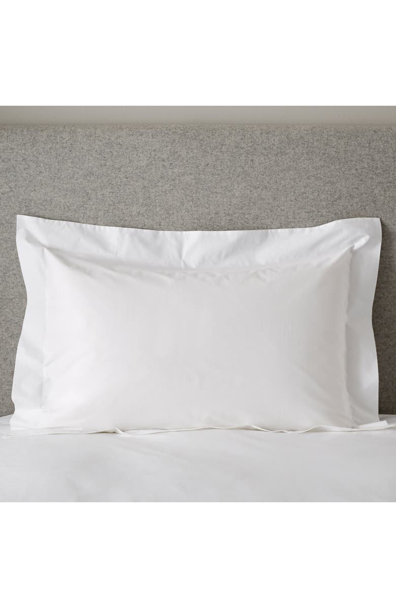 THE WHITE COMPANY 200 Thread Count Egyptian Cotton Oxford Set of 2 Shams, Main, color, 100