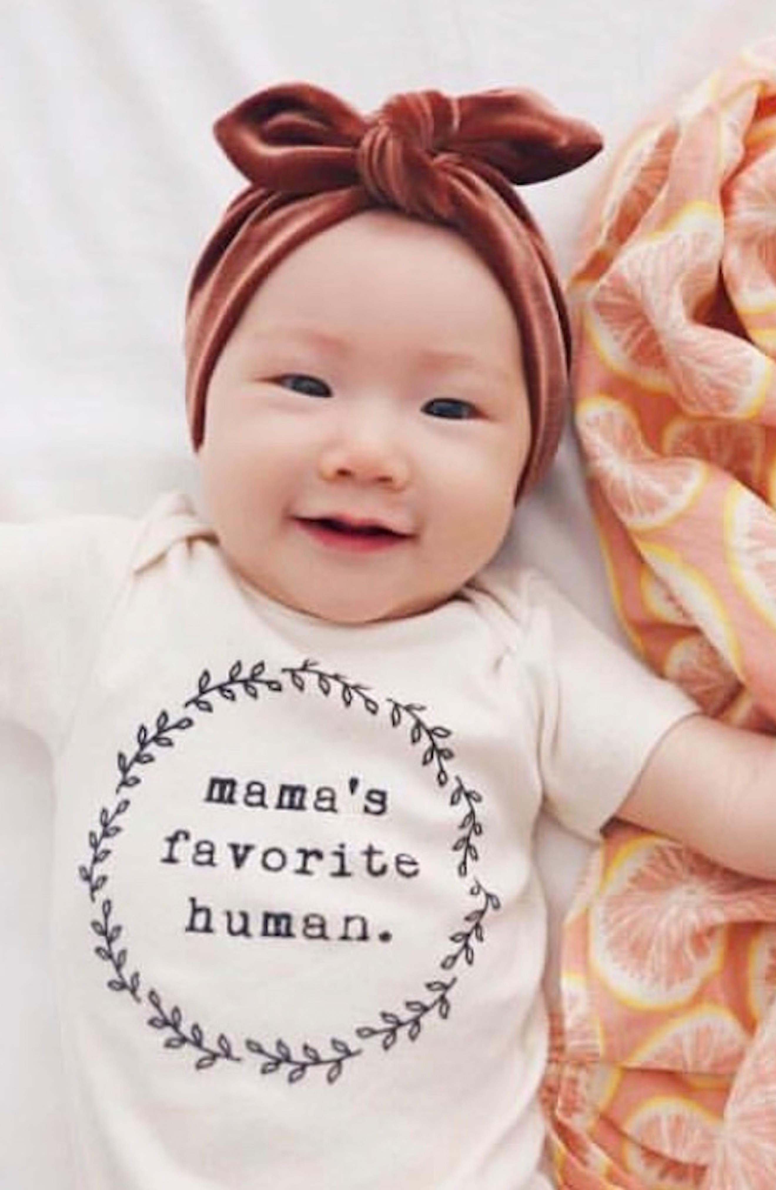 ,                             Mama's Favorite Human Organic Cotton Bodysuit,                             Alternate thumbnail 2, color,                             250