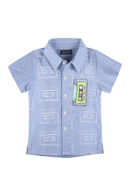 Image of Andy & Evan Cassette Tape Short Sleeve Shirt