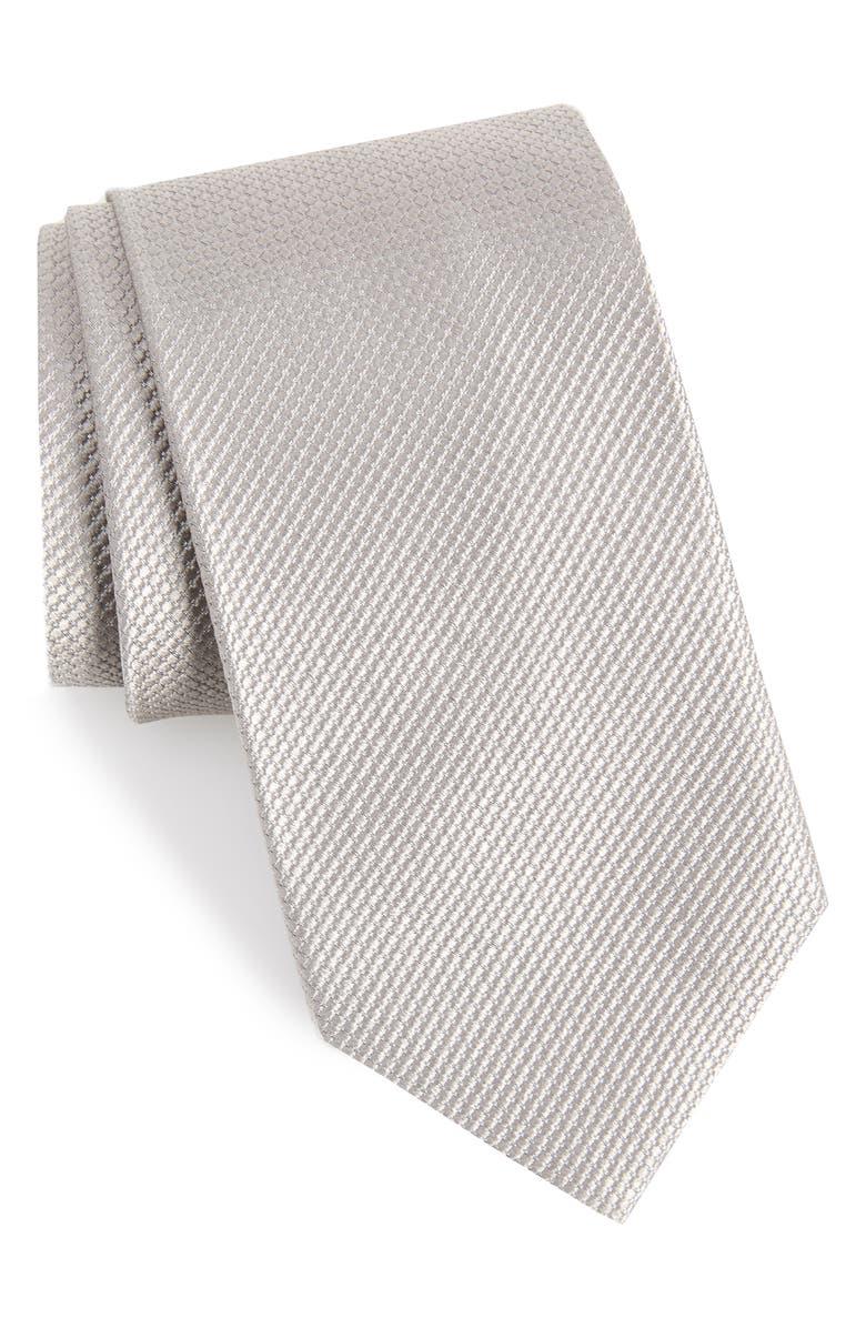 NORDSTROM MEN'S SHOP Vendome Dot Silk Tie, Main, color, 040