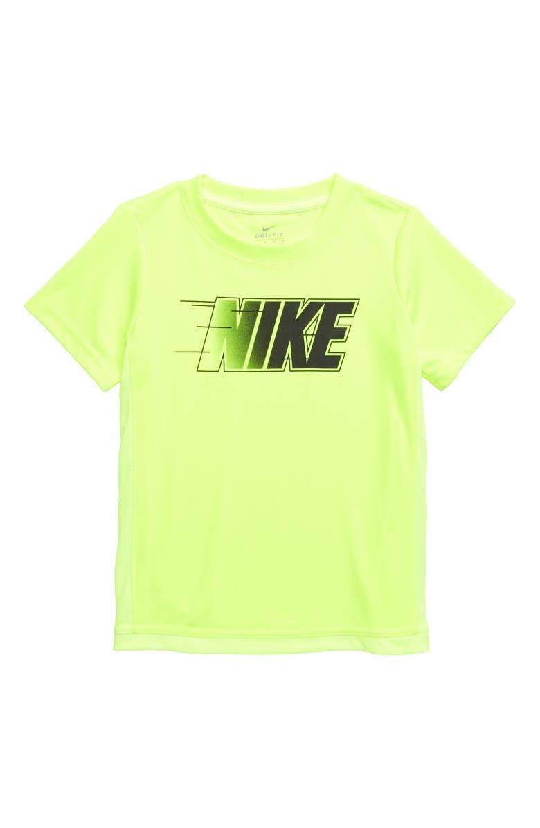 NIKE Trophy Dri-FIT Shirt, Main, color, VOLT
