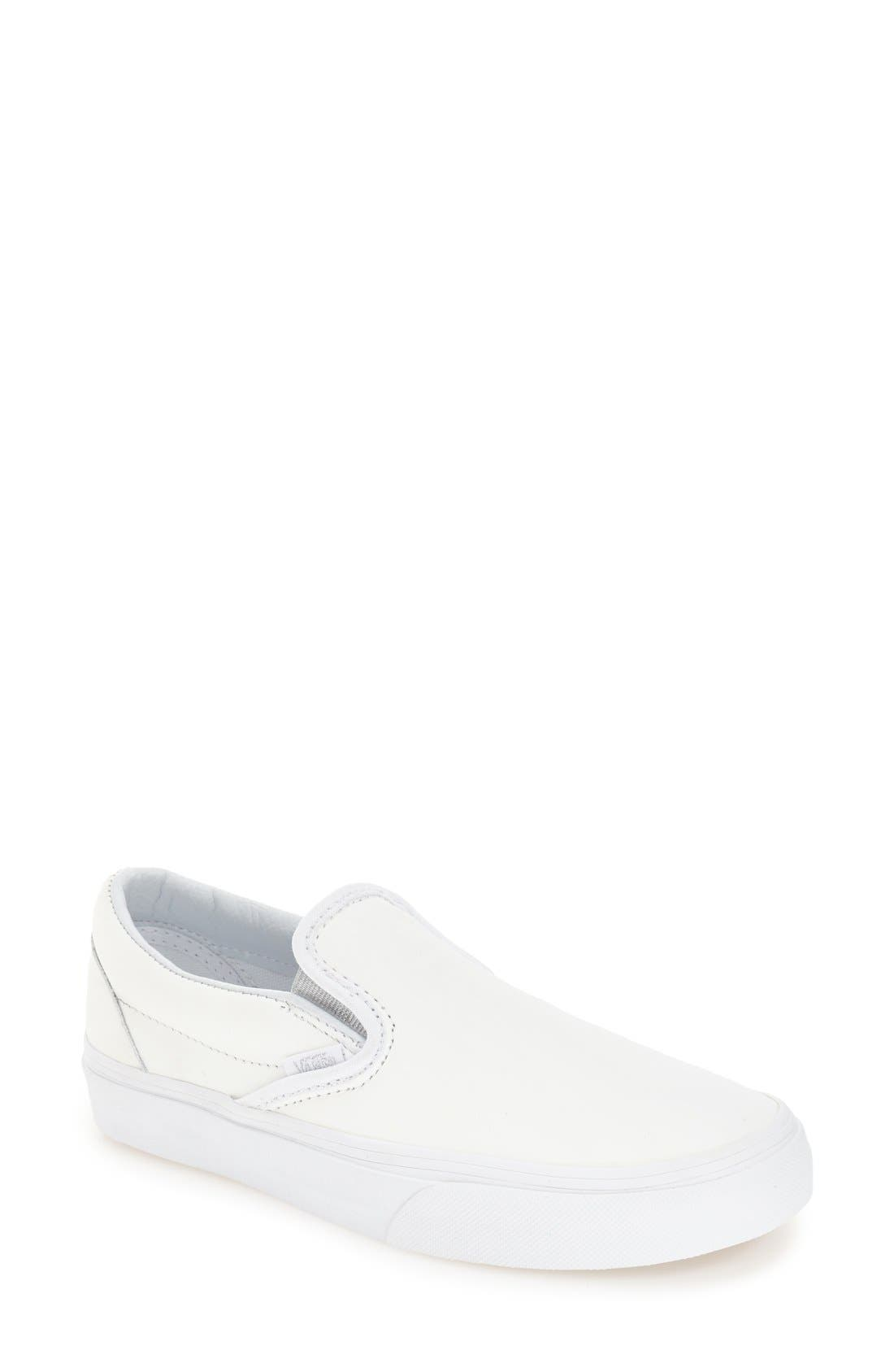 ,                             Classic Slip-On Sneaker,                             Main thumbnail 306, color,                             100