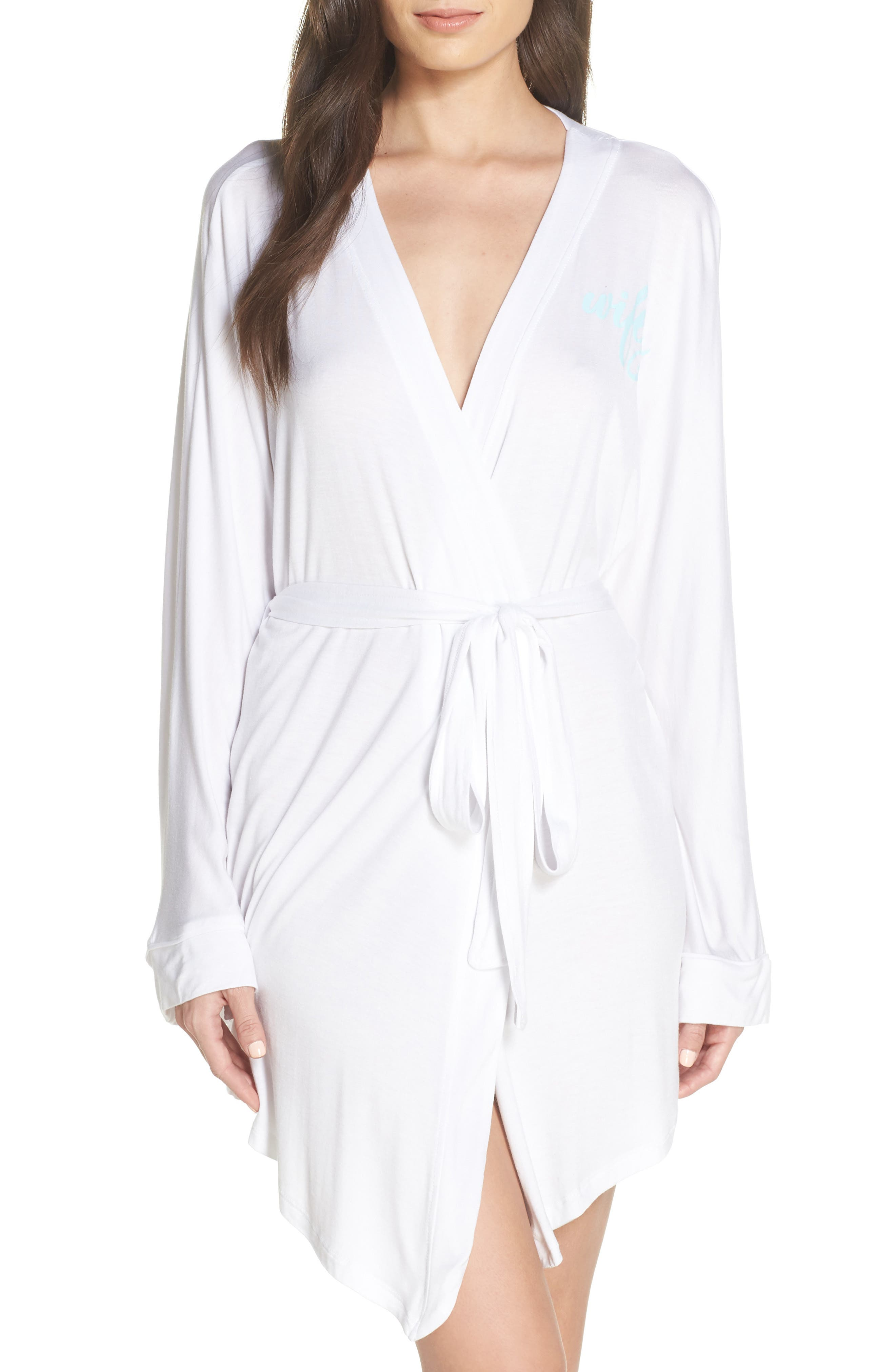 This honeymoon-appropriate robe with \\\