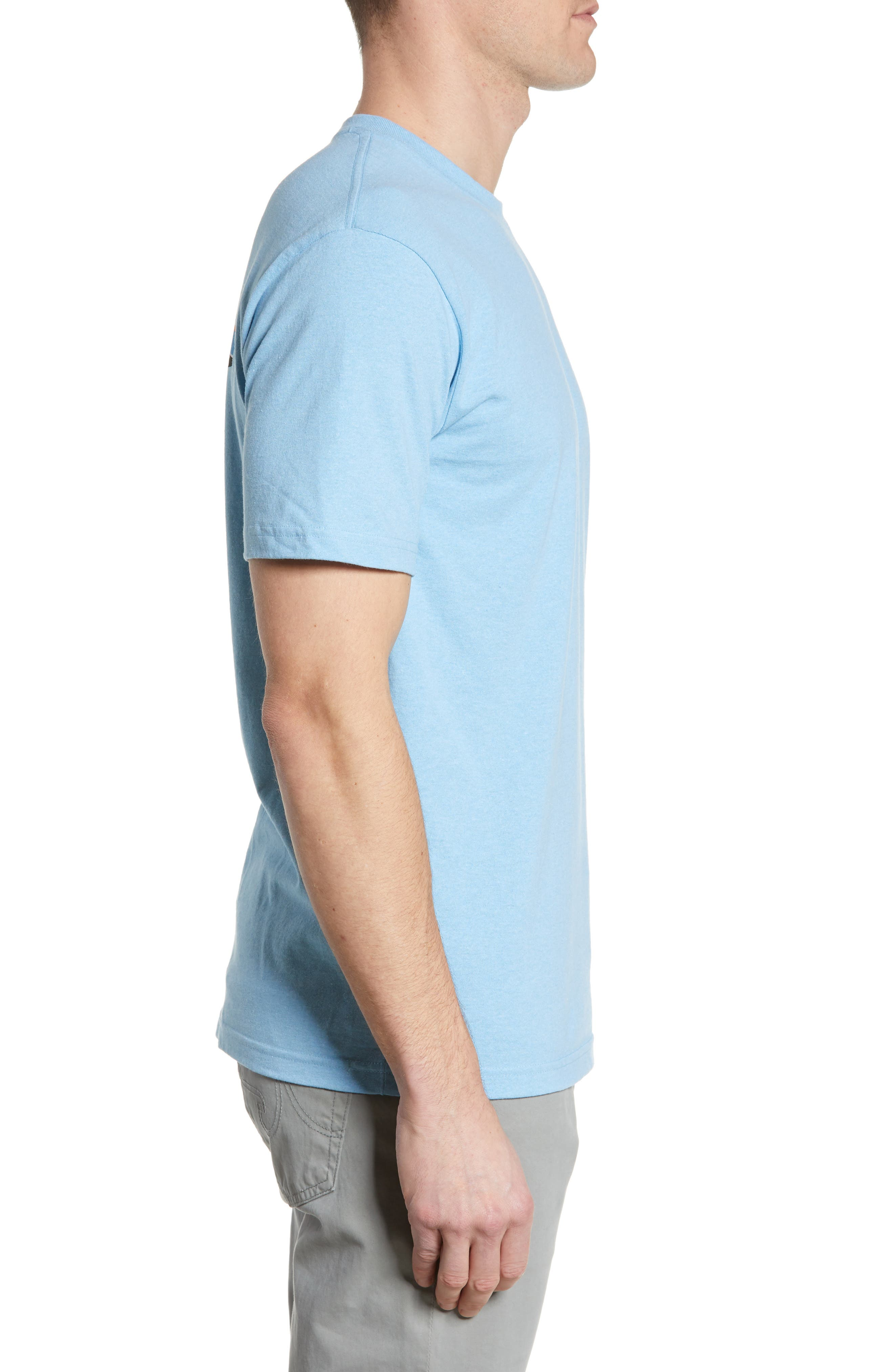 ,                             Fitz Roy Tarpon Responsibili-Tee T-Shirt,                             Alternate thumbnail 3, color,                             BREAK UP BLUE
