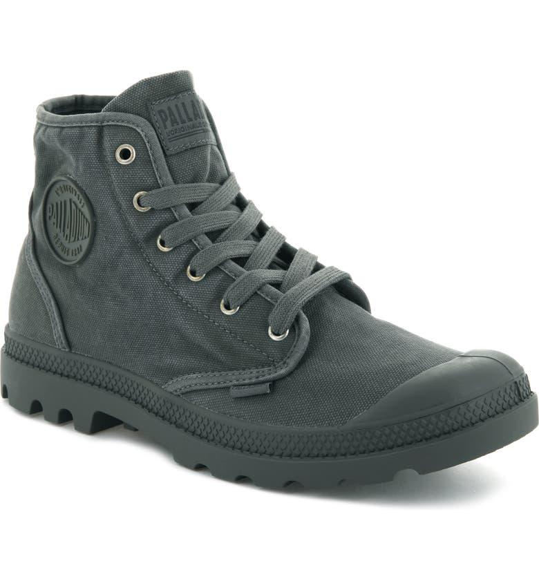 PALLADIUM 'Pampa Hi' Boot, Main, color, METAL BLACK