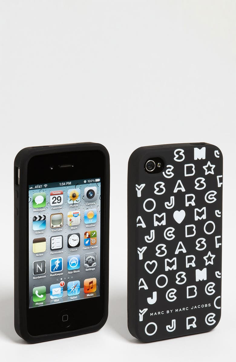 MARC JACOBS MARC BY MARC JACOBS 'Stardust' iPhone 4 & 4S Case, Main, color, 001