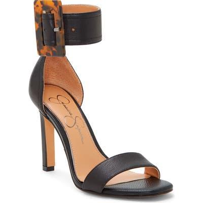 Jessica Simpson Caytie Ankle Strap Sandal, Black