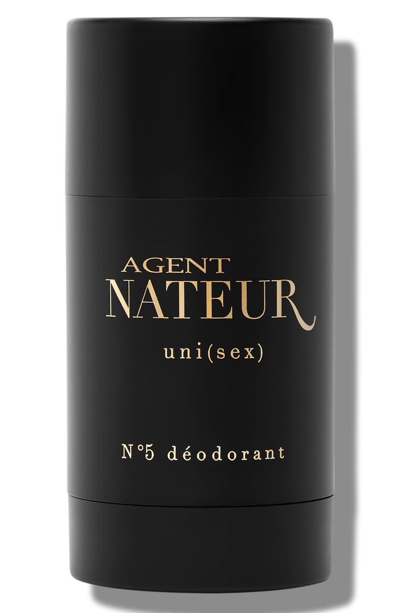 AGENT NATEUR uni(sex) No. 5 Natural Deodorant, Main, color, BLACK