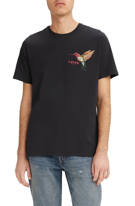 LEVI'S Cottons HUMMINGBIRD GRAPHIC TEE