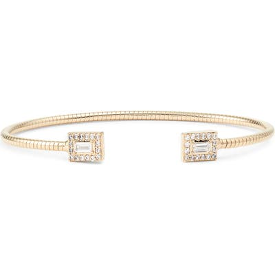 Nadri Cubic Zirconia Flexi Cuff Bracelet