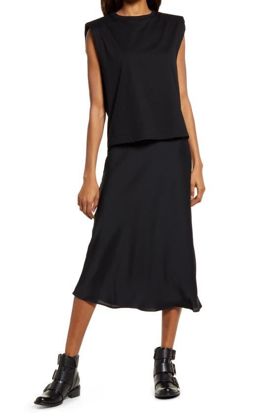 Allsaints Dresses TIERNY CONI 2-IN-1 DRESS