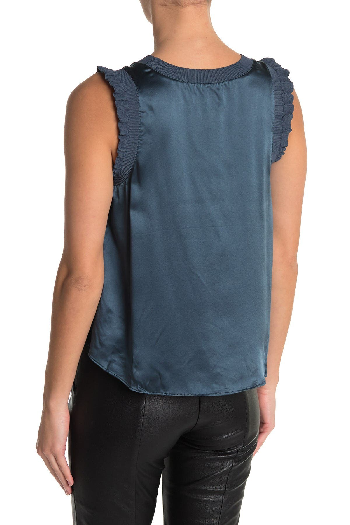 Image of Cinq a Sept Lenore Silk Blouse