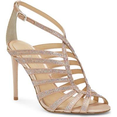 Imagine Vince Camuto Raychel Embellished Sandal- Beige