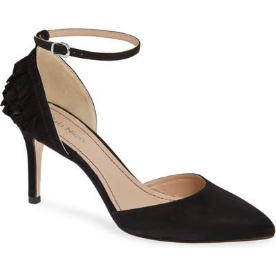 Klub Nico Rosaria Ankle Strap Pump, Black