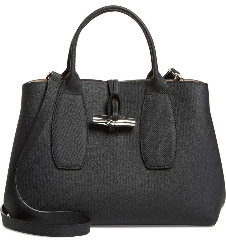Longchamp Medium Roseau Leather Tote | Nordstrom