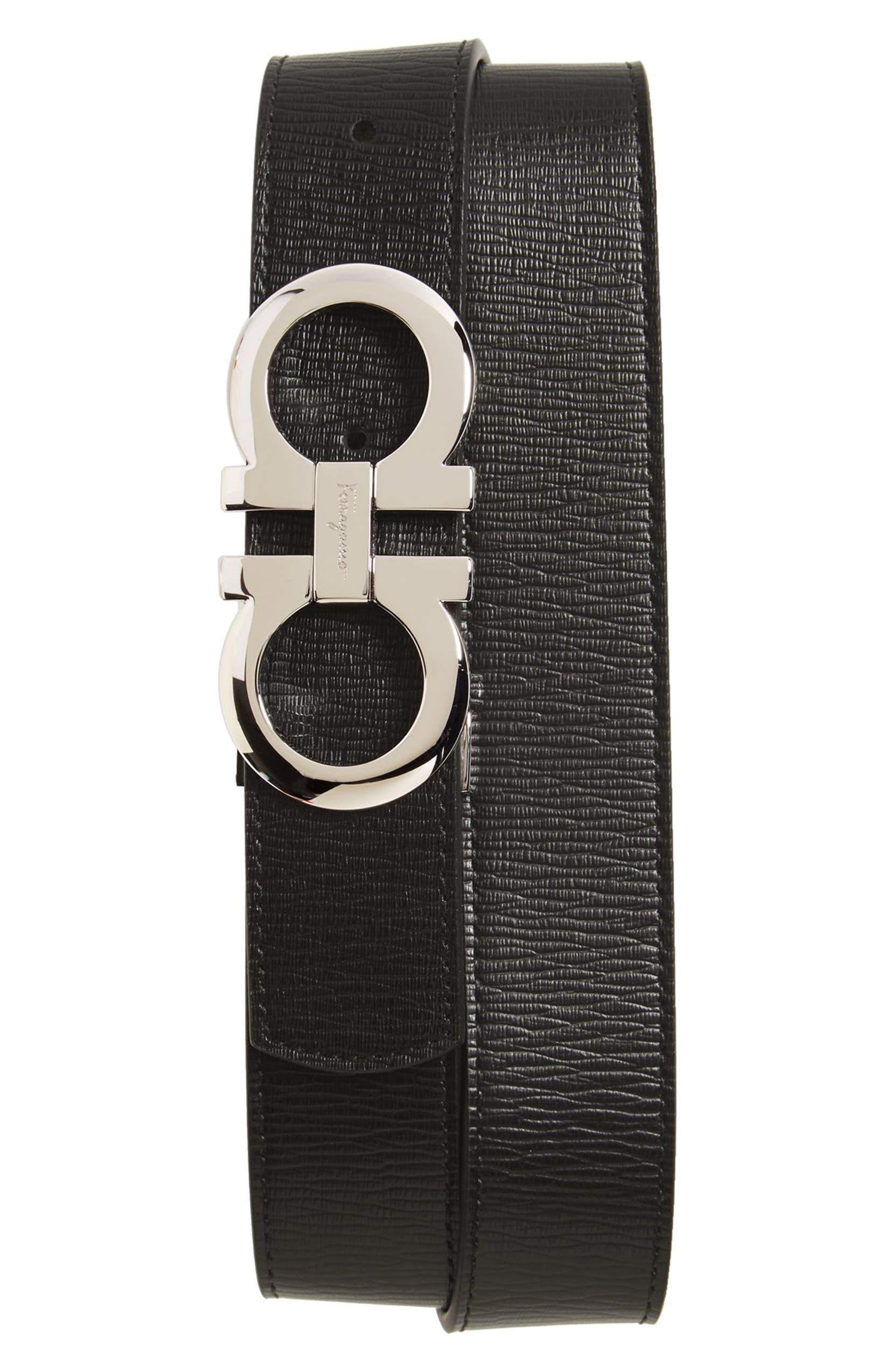d5ab04111cf Salvatore Ferragamo Revival Reversible Leather Belt | Nordstrom