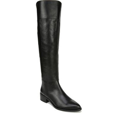 Franco Sarto Daya Knee High Boot, Wide Calf- Black