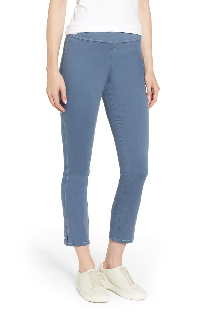 NIC+ZOE Bay Breeze Denim Pants, Main, color, INDIGO SEA