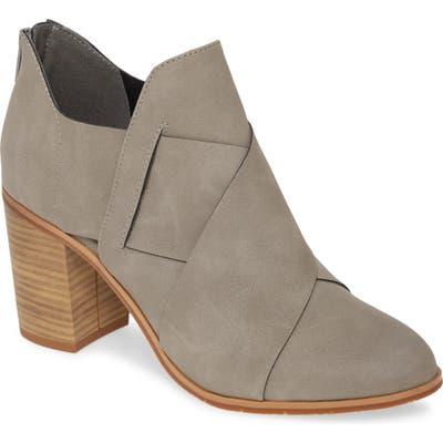 Bc Footwear Azalea Vegan Crisscross Bootie, Grey