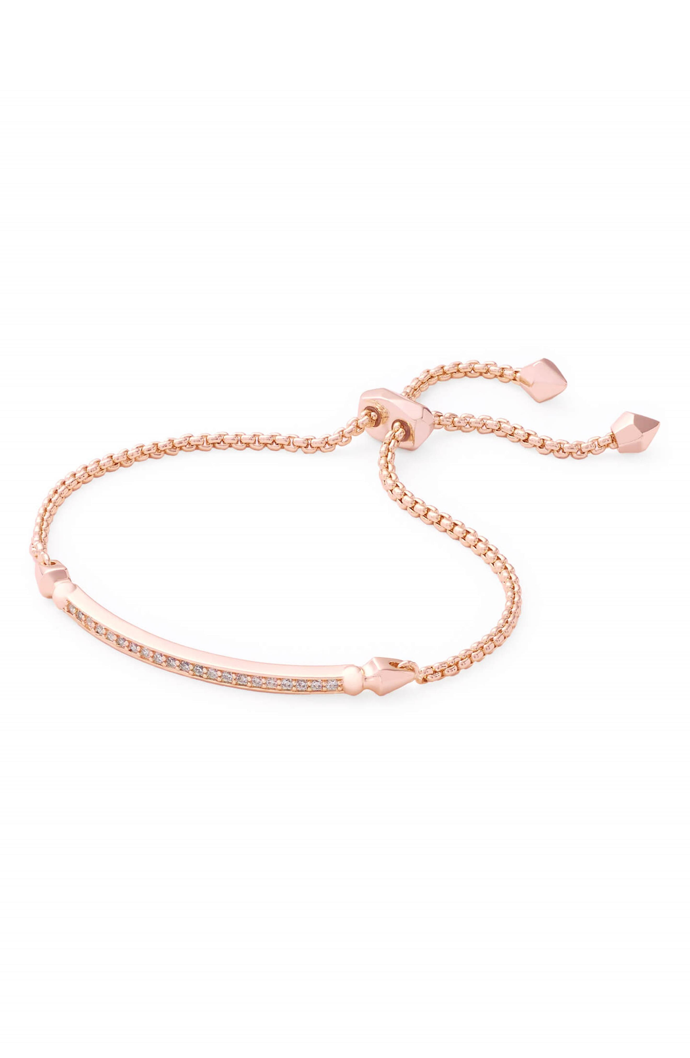 A highly adjustable keeper makes this slinky, sparkly bracelet all the more comfortable. Style Name: Kendra Scott Ott Friendship Bracelet. Style Number: 5381158. Available in stores.
