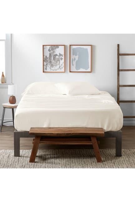 Image of IENJOY HOME Home Spun Premium 4-Piece Luxury Bed Ivory Sheet Set - California King