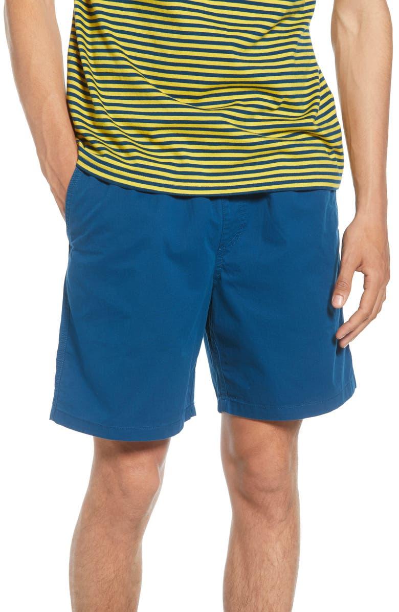 VANS Range Twill Shorts, Main, color, GIBRALTAR SEA