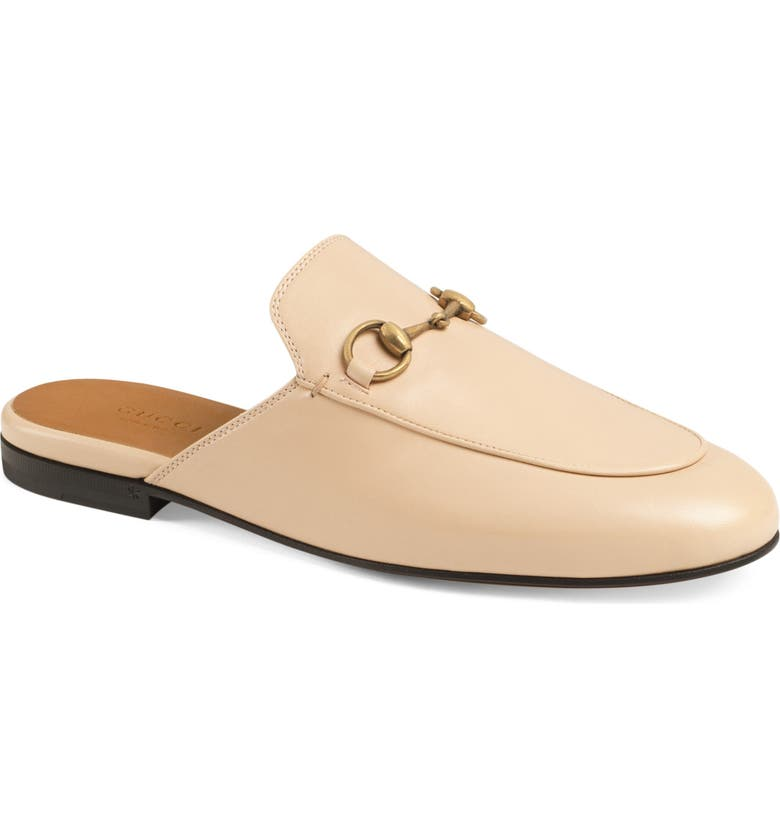 GUCCI Princetown Loafer Mule, Main, color, SKIN ROSE