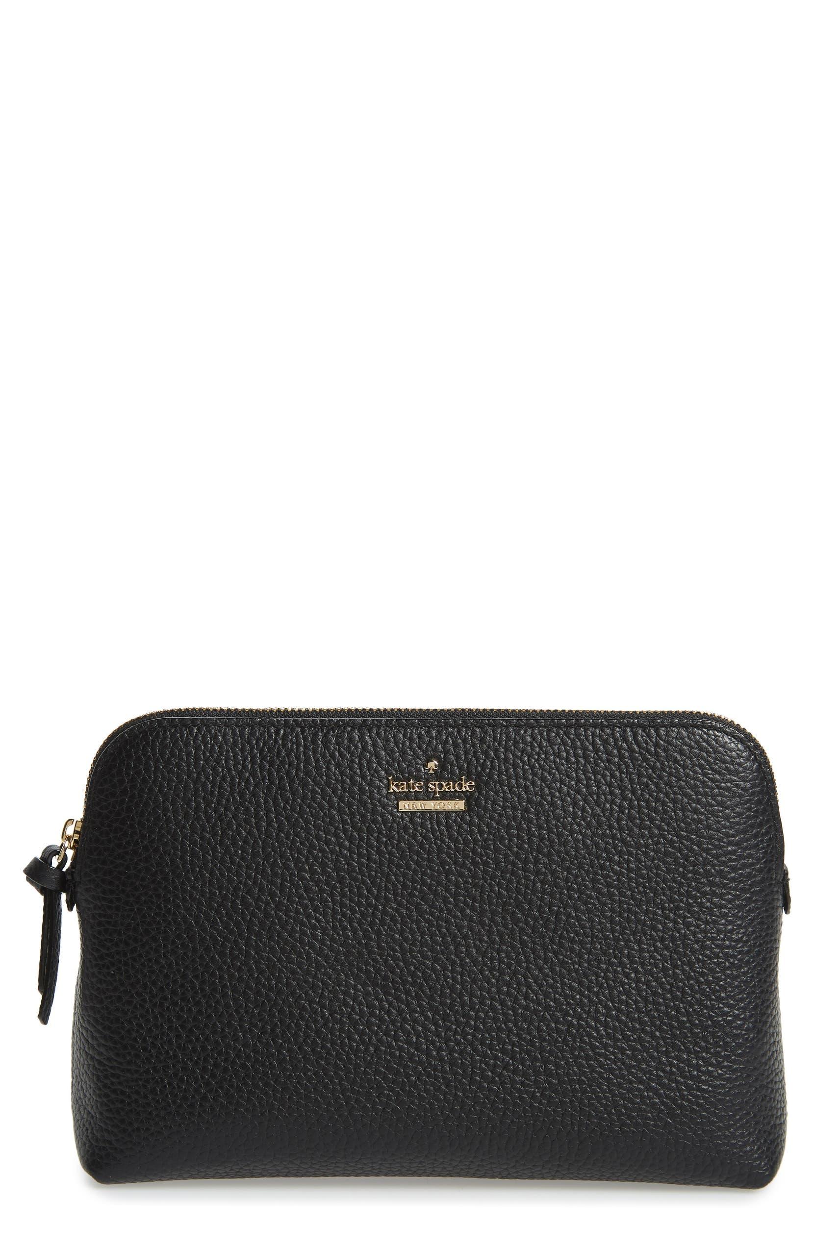10a8088b7658 jackson street - small briley leather cosmetics bag