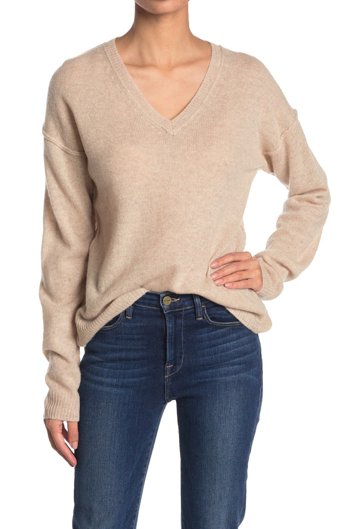 Image of 525 America Lightweight Cashmere V-Neck Sweater
