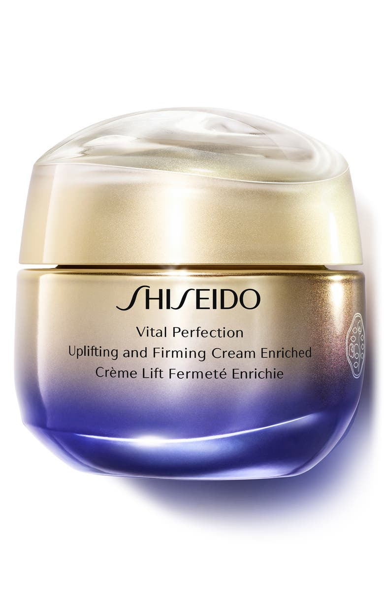 SHISEIDO Vital Perfection Uplifting and Firming Cream Enriched, Main, color, NO COLOR
