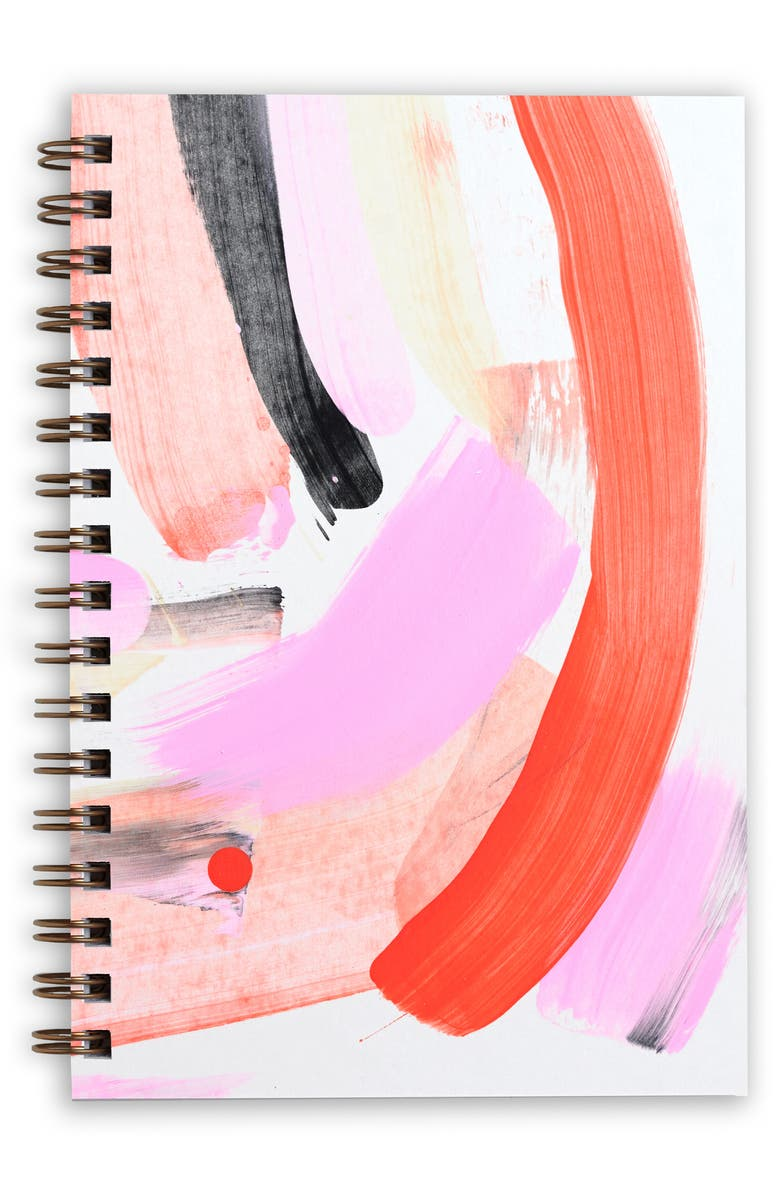 MOGLEA Hand Painted Notebook, Main, color, 650