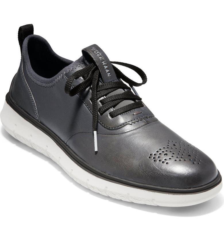 COLE HAAN Generation ZerøGrand Sneaker, Main, color, MAGNET LEATHER/ VAPOR GREY