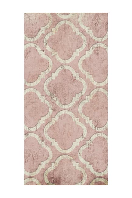 """Image of COURTSIDE MARKET Antique Reverse Rose Wall 45"""" x 96 Mural"""