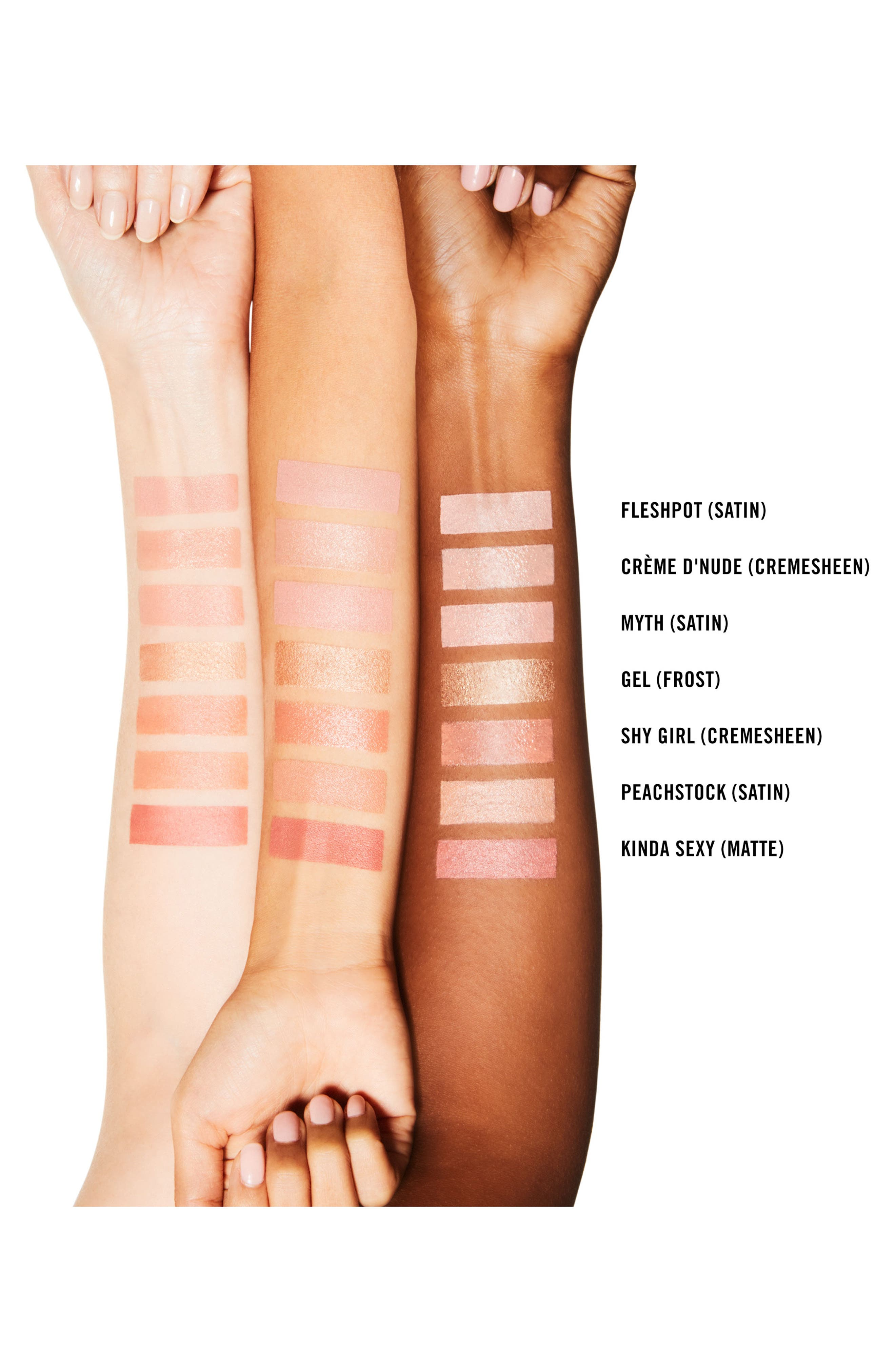 ,                             MAC Strip Down Nude Lipstick,                             Alternate thumbnail 248, color,                             260