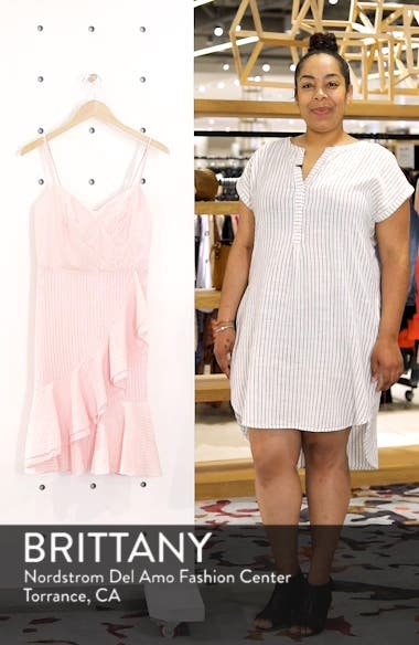 Spaghetti Strap Ruffle Dress, sales video thumbnail