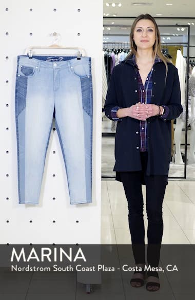 Tower High Waist Skinny Jeans, sales video thumbnail