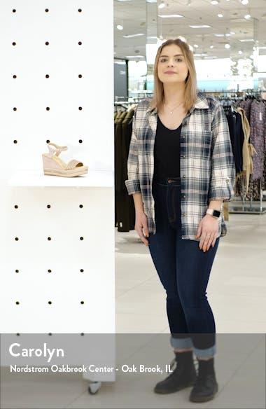 Evie Platform Wedge Sandal, video thumbnail