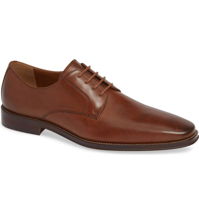 NORDSTROM Men's Shop Vincent Plain Toe Derby, Main, color, 235